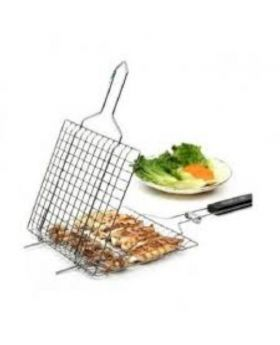 Bbq Net Holder Clip - Silver