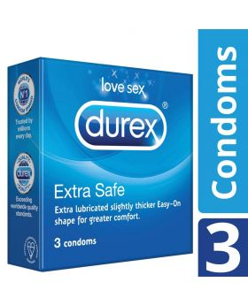 Durex Extra Safe Condoms (3's)