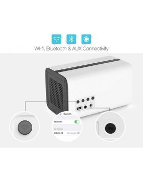 GGMM ES-201 E3 Portable WiFi Bluetooth Dual Wireless Connection Multifunctional Speaker Hi-Fi Music Wireless Subwoofer Speaker