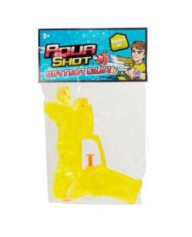 Aqua Shot Water Gun (1Pc) - Yellow