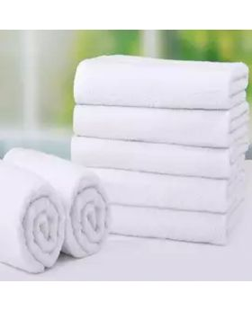 4 Pcs Bath Sheet-White