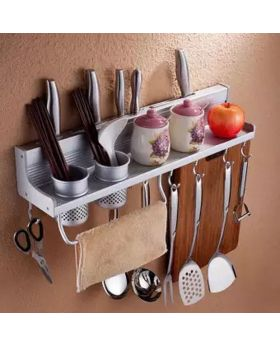 Utensils Aluminum Storage Rack Organizer