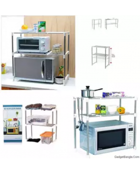 microwave oven storage rack
