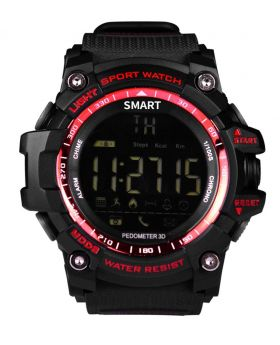EX 16 Smart Watch - Red
