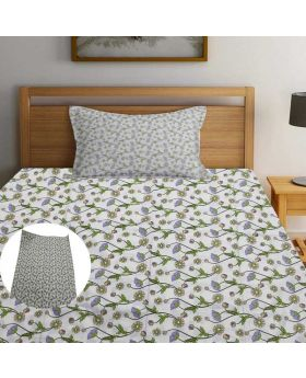 High Quality King Size Bed Sheet With 2pcs  Pillow Cover