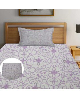 High Quality King Size Bed Sheet With 2pcs  Pillow Cover-HFF009 (Exported)