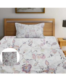 High Quality King Size Bed Sheet With 2pcs  Pillow Cover-HFF011 (Exported)