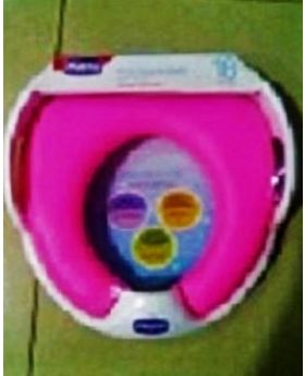 Chicco Soft Toilet Seat Potty Seat For Kids - Pink