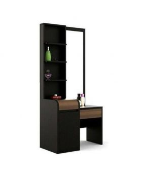 DR 58 - Malaysian Process Wood Dressing Table - Chocolate