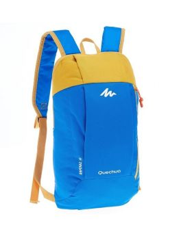 DECATHLON ARPENAZ 10L Litre HIKING BACKPACK -YELLOW BLUE