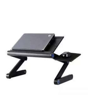 Aluminum Laptop Table T9 - Black