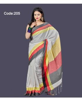 Khadi Saree for Women (Multi-Colour)