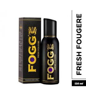 FOGG Black Men Body spray (Fougere) - 120ml