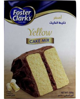 Foster Clark's Cake Mix Milk Chocolate 500g