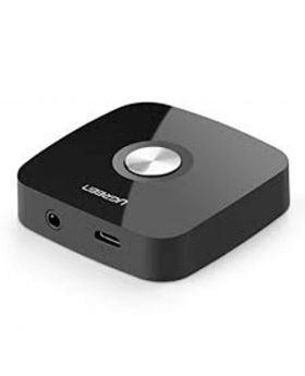 Ugreen 30445 Wireless Bluetooth Audio Receiver 4.1 with 3.5mm and 2RCA Black  Adapterwith Battery