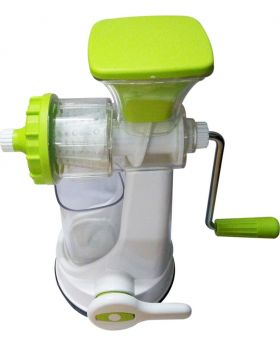 Ganesh Hand Juicer - White and Green