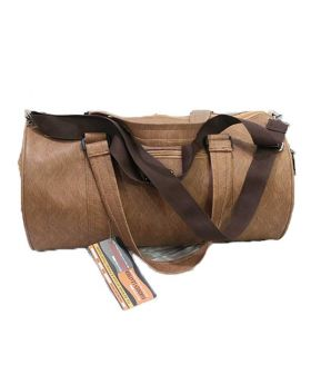 Artificial Leather Gym Bag 18 inch