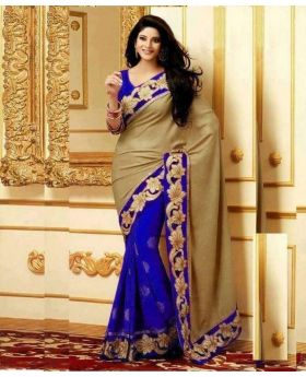 Gorgeous Indian designer Georgette Sari