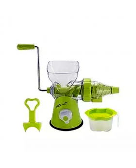 2-In-1 Non-Electric Blender and Juicer - Green
