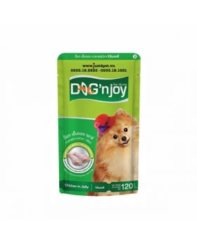 Dog n Joy Chicken in Jelly 120g