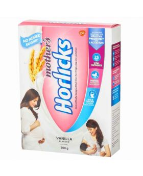 No Added Suger Mother's Horlics Vanilla 500gm (India)
