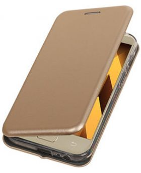 Huanmin Gold Back Case for Samsung Galaxy A7 (2017) bogo