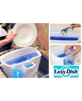 Wash n Bright Easy Dishwasher - White & Blue