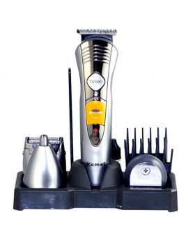 KEMEI KM-550 RECHARGEABLE 5 IN 1 HAIR TRIMMER