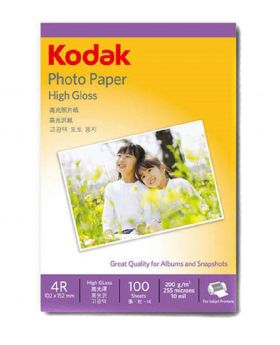 Kodak 4R High Gloss Photo Paper