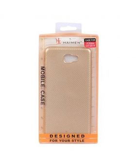 Haimen Gold Back Case for Samsung Galaxy J2 Prime bogo