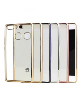 Hallsen Gold Back Case for Huawei P9 lite