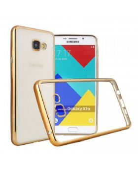 Hallsen Gold Back Case for Samsung Galaxy A5 (2017) bogo