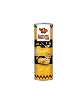 Mister Potato Crisps Hot & Spicy 75g Can