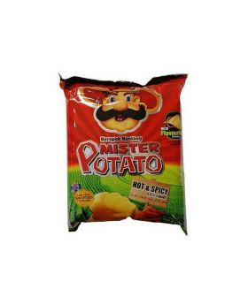 Mister Potato Chips Hot & Spicy 75g