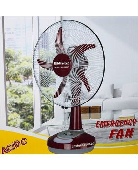 Miyako KL-1022 P (12 ) Re-Chargeable Fan