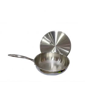 Stainless Steel Saucepan with Lid- 2.5 Litter