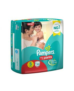 Pampers New Diapers Pants, Large (8 Count)