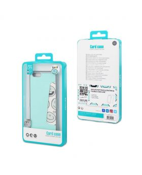 Any Life Popyface ultrathin & flexible Card Case for Iphone 6/6S (Paste)
