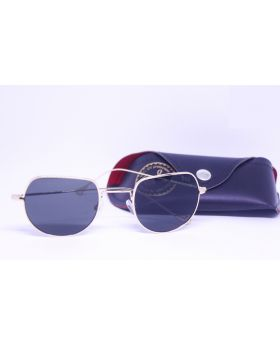 Metal and Plastic Stylish Golden Sunglass