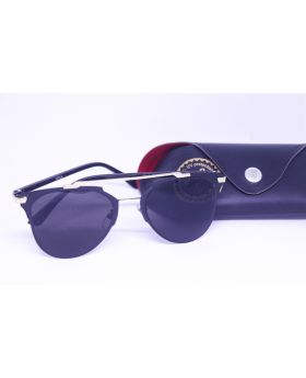 Metal-Plastic Black Sunglass for Men