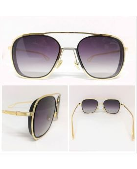 Metal-Plastic Stylish Golden Sunglass for Men