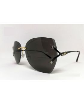 Stylish Metal & Plastic Black Sunglass For Women