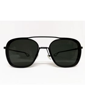 Metal and Plastic Fashionable Black Sunglass