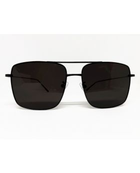 Metal and Plastic Stylish Black Sunglass