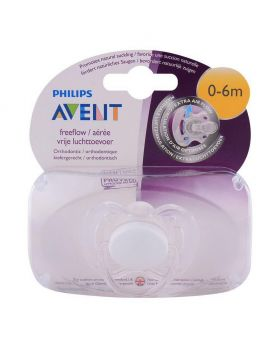 Philips Avent Pacifier Single 0-6m White
