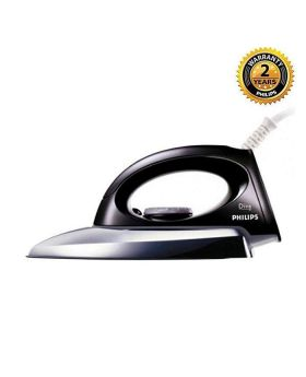 Philips Black and Silver Dry Iron - GC0083/00