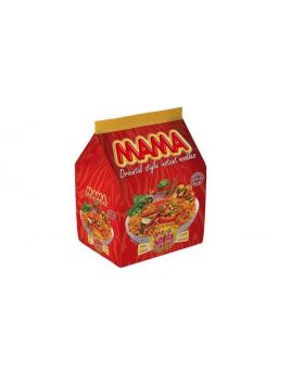Mama Instant Noodles Hot & Spicy Flavor (8Packs)
