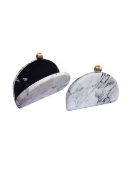 White Color Clutch Bag for Women