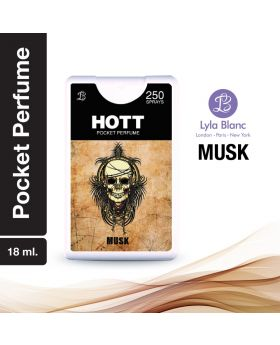 HOTT NOIR POCKET PERFUME 18 ML FOR MEN