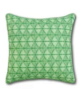Ocean Green Polly Filler Cushion & Cotton Cover Set